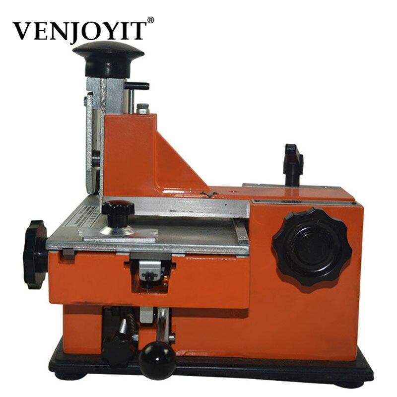 Machine de marquage manuelle semi-automatique de JN-360, machine de codage d'étiquetage en aluminium, imprimante d'étiquettes de paramètre d'équipement (plaque de police de 3mm)