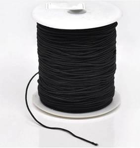 Image 5 - 100 yards 2mm Ronde Elastiek Nylon Gecoat, Stretch Koord Kralen String, Fit Voor Armband, DIY Accessoire