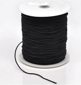 Image 5 - 100 yards 2mm Round Elastic Cord Nylon Coated,Stretch Cord Beading String,Fit For Bracelet & Necklace,DIY Accessory