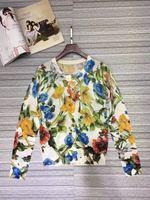 Новинка 2018 Высокое качество модные свитера для подиума летние Для женщин s Роскошные брендовые Женская одежда A08265