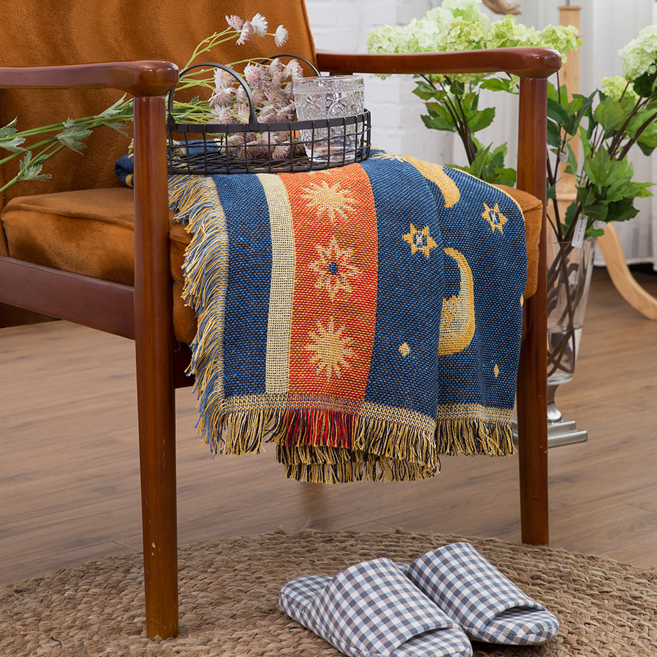 Warm sofa decorative slipcover Throws on Sofa/Bed/Travel Plaids - Home Textile - Photo 3