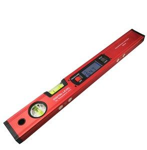 Image 5 - Niveau électronique numérique, détecteur dangle, inclinomètre à 360 degrés avec aimants, règle de mesure de pente, 400mm