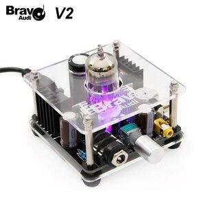 Image 1 - Bravo Audio V2 wzmacniacz słuchawkowy klasy A 12AU7