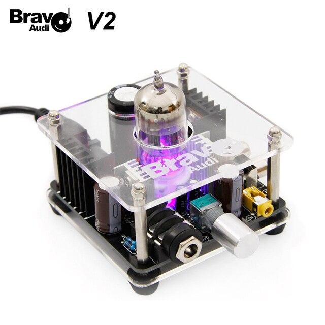 Bravo Audio V2 wzmacniacz słuchawkowy klasy A 12AU7