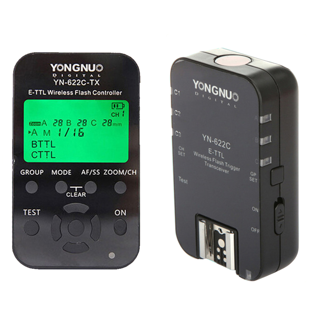 YONGNUO YN-622C YN622C YN622 622C-TX Wireless TTL HSS Flash Trigger Set For Canon Support YN685C YN-685C YN-568EX II YN568EX II золотое кольцо ювелирное изделие a1006808074