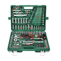 Вся система 150 шт./компл. ремонт автомобиля ремонтный набор инструментов трещотка набор ключей мульти функция Портативный уход за автомобил