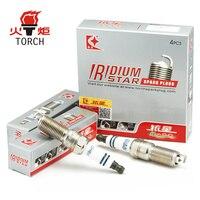4pcs Lot China TORCH Car Candles Double Iridium Car Spark Plugs Glow Plugs KH6II For AUDI