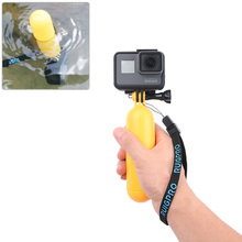 цена на for Gopro Accessories waterproof Hand Grip Antislip Bobber Floating Floaty Handheld Stick For Go Pro Hero 7 6 5 4 for Yi 4K