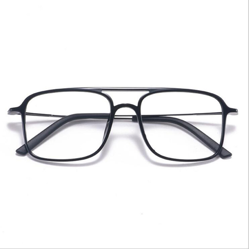 Eyeglasses Square Big-Face Super-Light Women And ULTEM 7g Tide Models Comfortable Double-Beam
