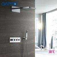 GAPPO смеситель для душа ванна краны душ смесителя для душа ванна смеситель смесителя раковина датчик смесители