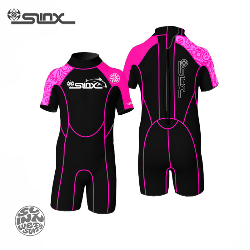 SLINX 1302 2mm Neoprene Children Scuba Diving Suit Swimming Swimwear Kite Surfing Water Sports Snorkeling Boating Kid 39 s Wetsuit in Wetsuit from Sports amp Entertainment