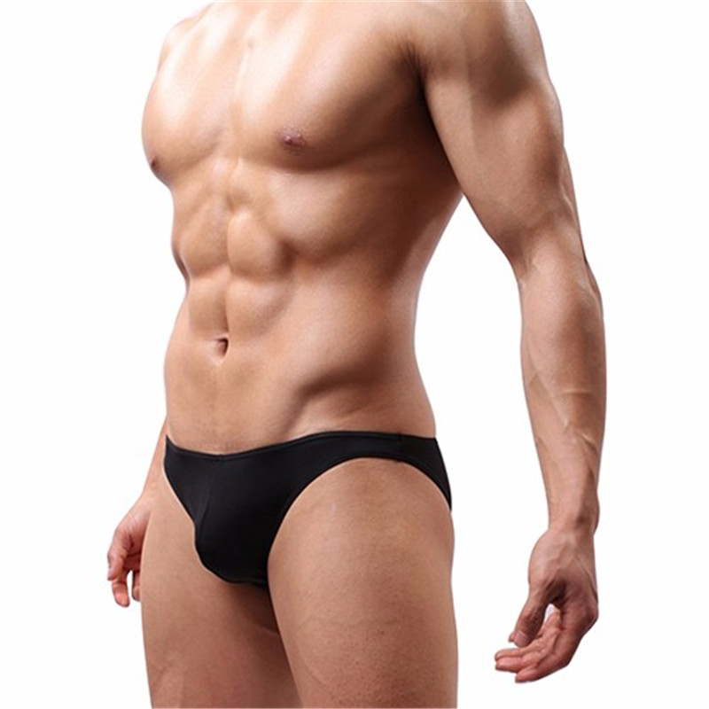 Buy New Arrival Men's Soft Tangas Jockstrap gay underwear Back Red Color G-String Briefs Sexy Pouch Thongs string homme men thong