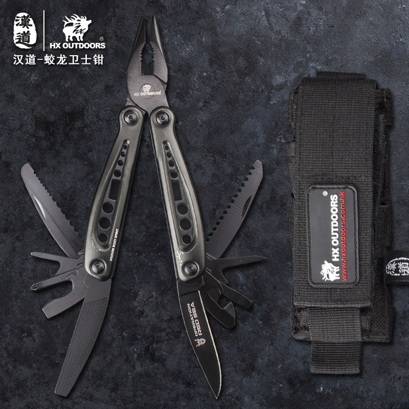 HX OUTDOORS TD 03HH Multifunctional Defenders Camping Survival Knife Multi Tool Pliers Conbination Outdoor EDC Hand Tools gift|Knives| |  - title=