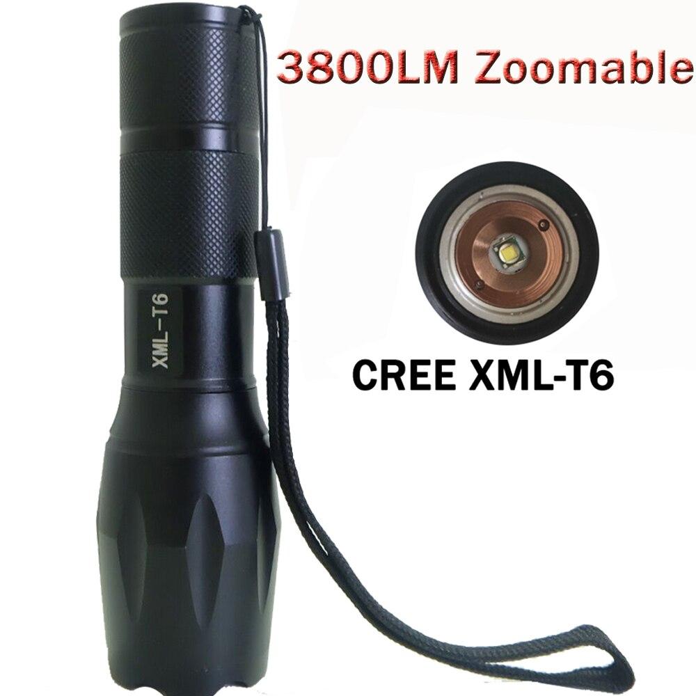 <font><b>3800</b></font> люмен тактический фонарик 17 CREE xm-l T6 CREE светодиодный фонарик Luzes факел zaklamp Taschenlampe <font><b>torcia</b></font> Масштабируемые фонарик ZK93
