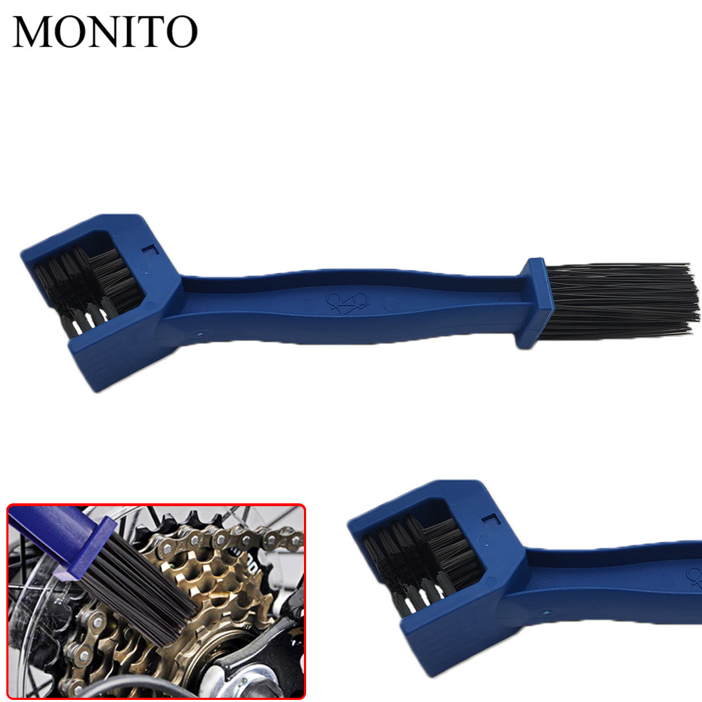 Motorcycle Chain Maintenance Tool Cycling Cleaning Brush For KTM KAWASAKI Z900 ER6N Z800 Z750 Z1000SX Honda <font><b>CRF</b></font> <font><b>450</b></font> <font><b>CRF</b></font> XR XL 85 image