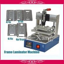 110 v/220 v marco de soporte de presión de la máquina laminadora máquina de laminación para el iphone 4/4s 5/5s 5c 6/6 s 6 p/6 ps moldes