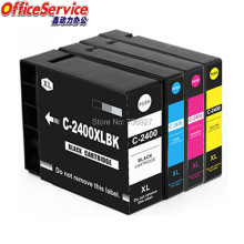 цены 4PK compatible ink cartridge for PGI-2400xl  PG2400 PGI 2400xl for Canon MAXIFY Ib4040 MB5340 MB5040