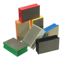 New Diamond Polishing Granite Marble Glass Block Hand Pads 60 3000 Grit Polish Hand Pads For