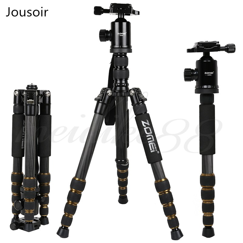 Zomei-Z699C-Professional-Carbon-Fiber-Travel-Tripod-Monopod-with-Ball-Head-Stand-for-Camera-Camcorder_