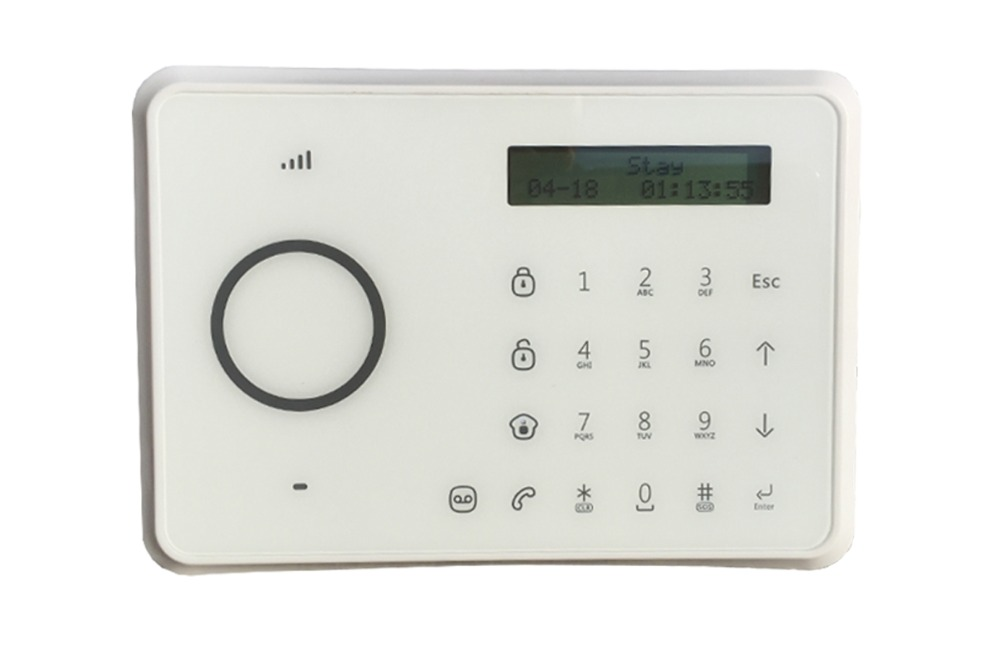 IOS and Andrinod APP /LCD display/10 languages GSM alarm system  Dual Network PSTN and GSM Burglar Security Alarm System etiger app hot selling chuango b11 dual network pstn and gsm burglar security alarm system cg00475kit