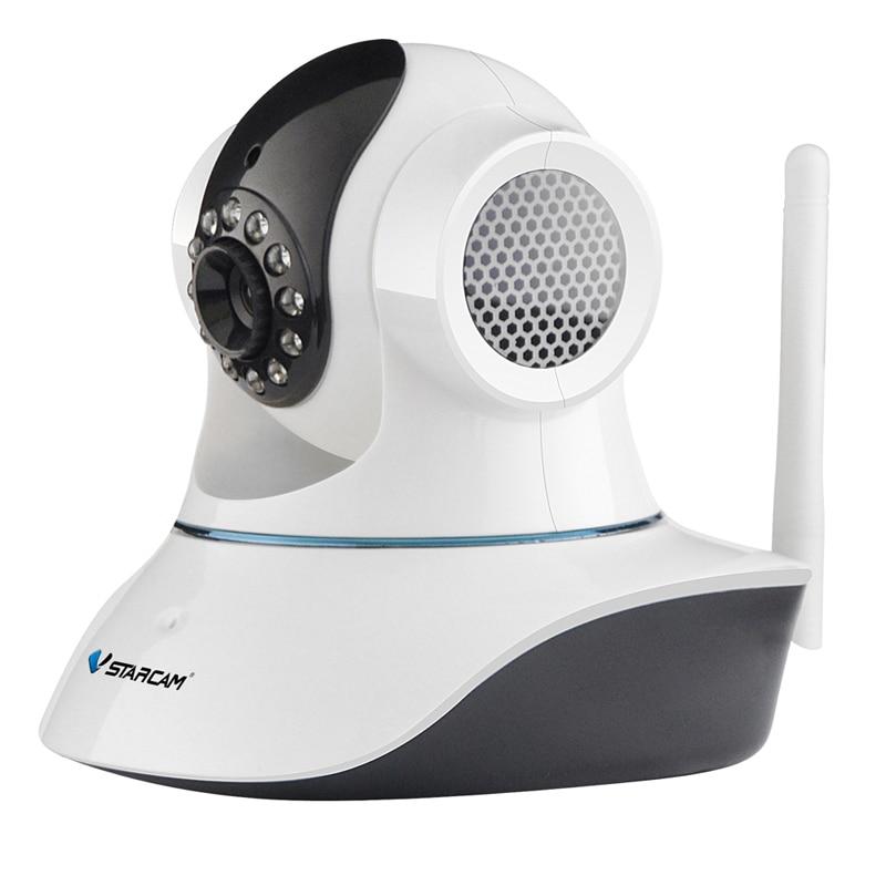 все цены на Vstarcam C7835WIP Free Shipping H.264 720P HD Wireless WiFi Motion Detection IR Hemispherical IP Camera
