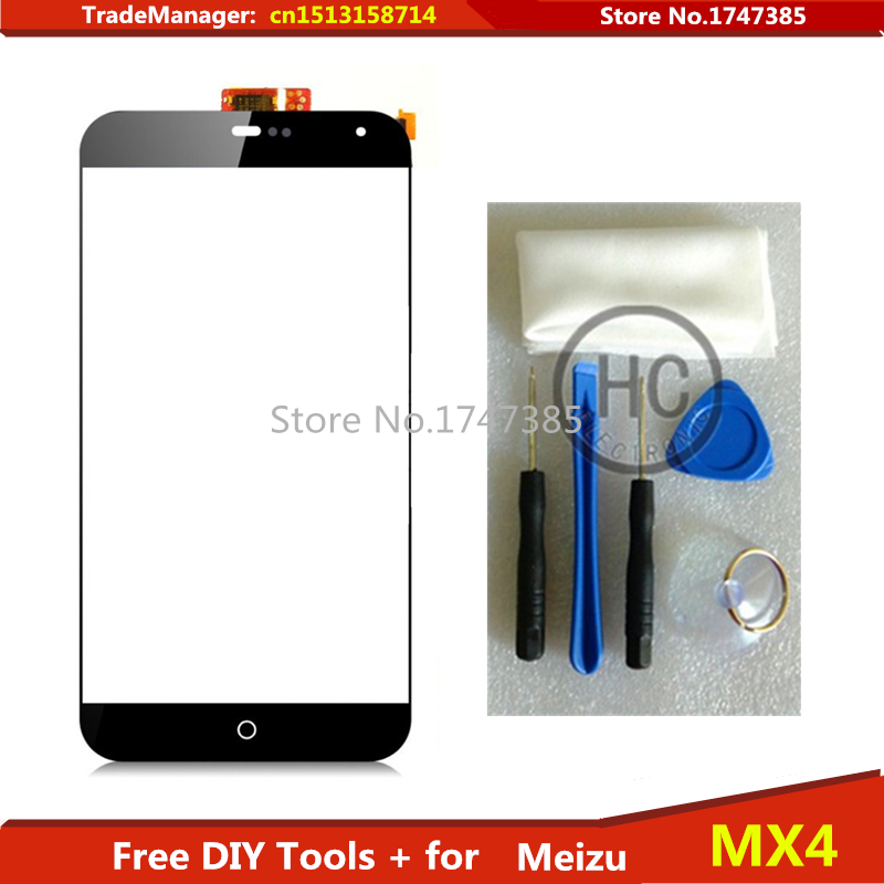 Free DIY Tools Original Touch Screen For Meizu MX3 M055 MX065 Glass sensor for Meizu mx3
