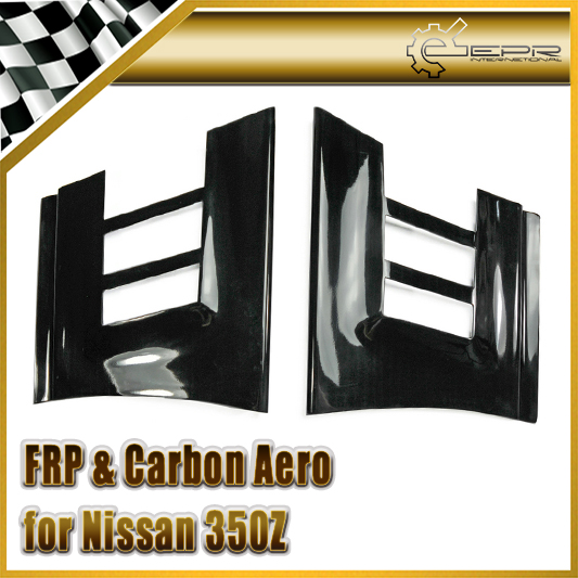 Car-styling FRP Fiber Glass Front Fender Add On Fit For Nissan 350Z
