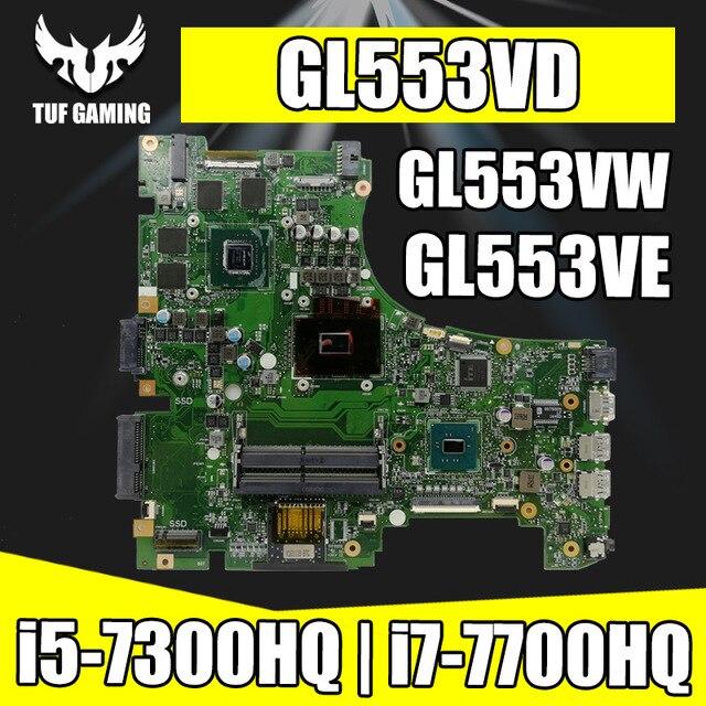 Обмен! ROG материнская плата для ноутбука ASUS GL553VD GL553VE GL553VW GL553V GL553 оригинальная материнская плата GTX1050M GTX960M i7/i5 cpu