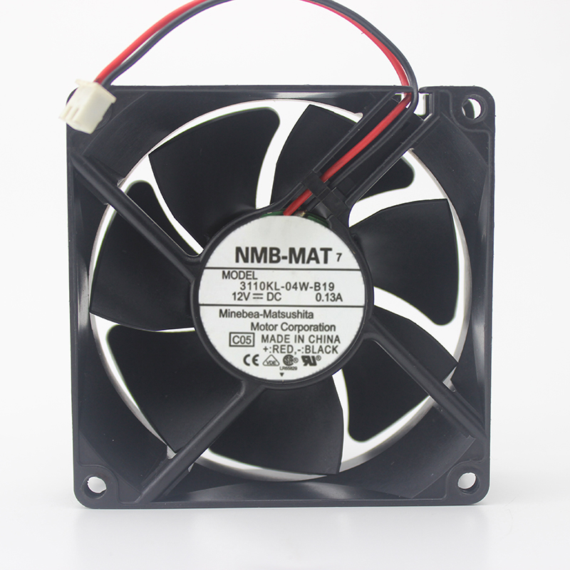 8025 8 см 0.13A двойной шар ультра-тихий компьютер вентилятор шасси 3110KL-04W-B19