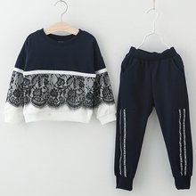 Children Clothing 2018 Autumn Winter Girls Clothes 2pcs Set Christmas Outfit Kids Clothes Tracksuit Suit For Girls Clothing Sets