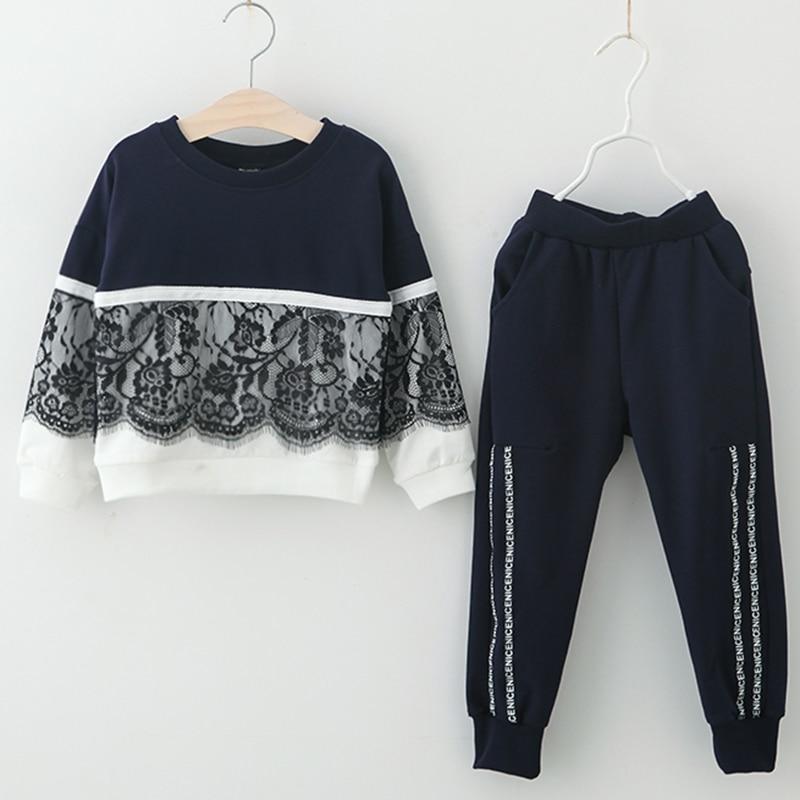Kinder Kleidung 2018 Herbst Winter Mädchen Kleidung 2 stücke Set Weihnachten Outfit Kinder Kleidung Trainingsanzug Anzug Für Mädchen Kleidung Sets