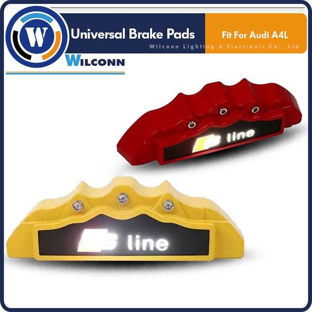 Led Car Wheel Light Brake Break Disc Pads Cover Lights Caliper Tire Tyre Lamp Customize Your Brakes