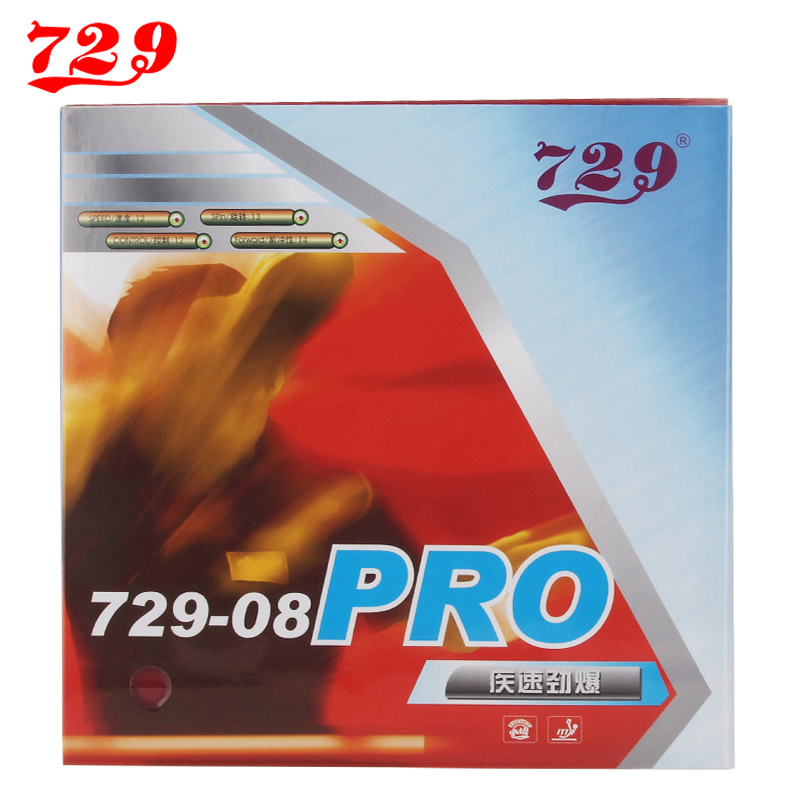 729 08 PRO Pips-In Provincial 729-08 Table Tennis Rubber Pimples In Ping Pong Rubber