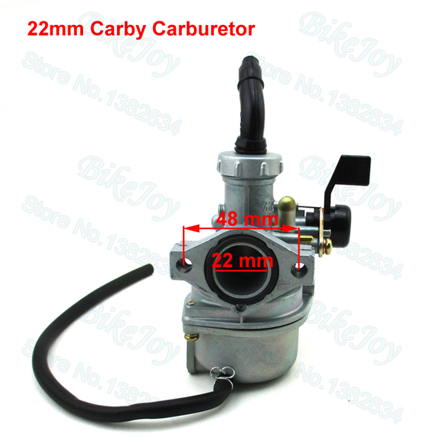 US $20 62 11% OFF|22mm PZ22 Carburetor Carb Carby Left Choke for XR50 CRF50  XR70 CRF70 KLX110 70cc 110cc Pit Dirt Bike ATV Quad Go Kart Motorcycle-in