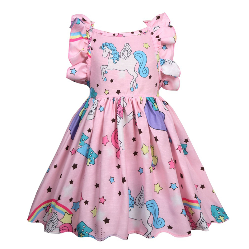 aliexpress  buy unicorn dress 2018 summer dresses for