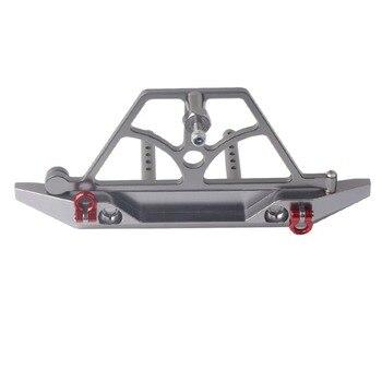 Gancio Con Vite | 1/10 Rock Crawler Auto Axail SCX10 Paraurti Posteriore Con Cremagliera Ruota Di Scorta Verricello Gancio RC Modello Di Auto Giocattoli Di Hobby Parti Accessori