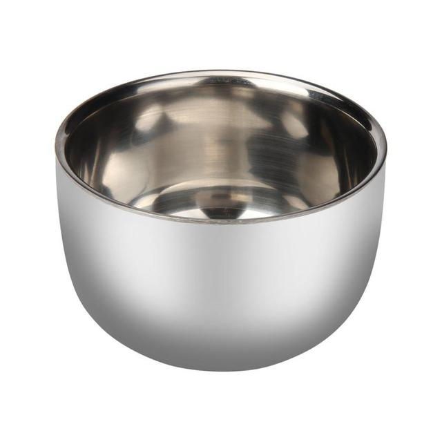 Fashion Men's Shaving Mug Bowl Cup For Shave Brush Stainless Steel Metal High Quality 3JU16