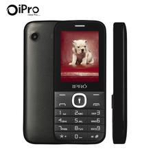 Ipro I324F 2.4inch Dual SIM GSM Mobile Phone With English Portuguese Spanish Language 2G GSM Cellphone Telephone Christmas Gift