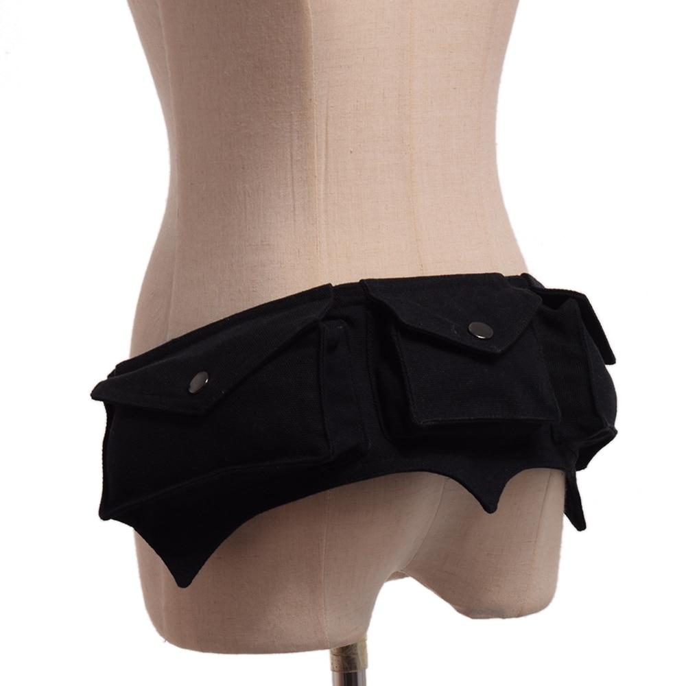 Steampunk Women Waist Bag Utility Belt Bag Festival Belt Bag Hooping Hip Belt Sexy Burlesque Costume Accessory