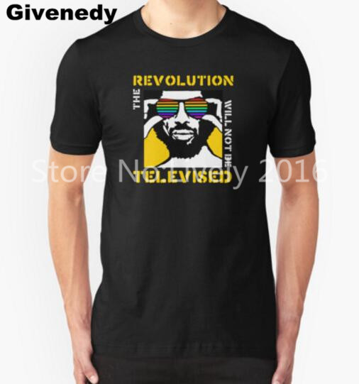 REVOLUTION WILL NOT BE TELEVISED GIL SCOTT HERON Mens & Womens Comfortable T Shirt ...