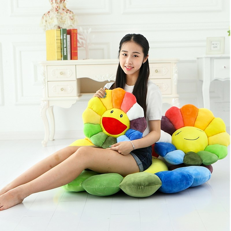 55CM Home Decorations KAWS Pillow Cartoon Expression Sunflowers Dakimakura OriginalFake Living Room Office Ornaments G125855CM Home Decorations KAWS Pillow Cartoon Expression Sunflowers Dakimakura OriginalFake Living Room Office Ornaments G1258
