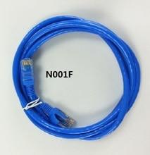 N001F супер пять сетевой кабель черный сетевая Перемычка rj45 Интерфейс-экранированный сетевой кабель