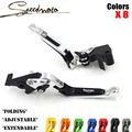 High quality CNC Motorcycle Brakes Clutch Levers For Triumph SPEED TRIPLE 1050/R DAYTONA 675 R 2011 2012 2013-15 Accessories