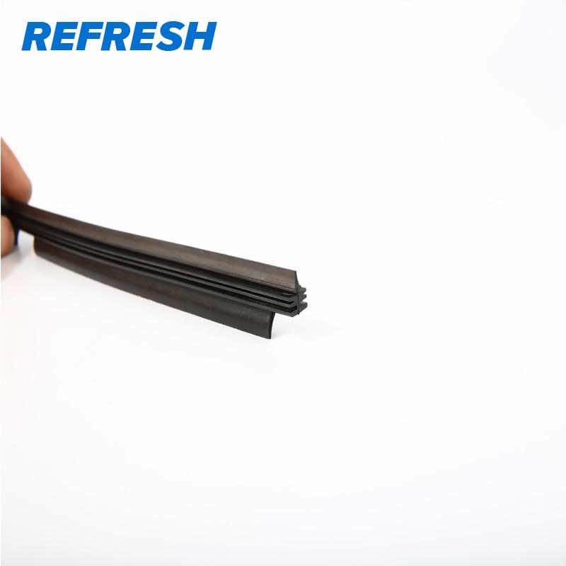 Обновленная Высококачественная долговечная сменная поверхность стеклоочистителя с тефлоновой технологией натуральный каучук для Valeo type Beam Wiper Blade 1 шт
