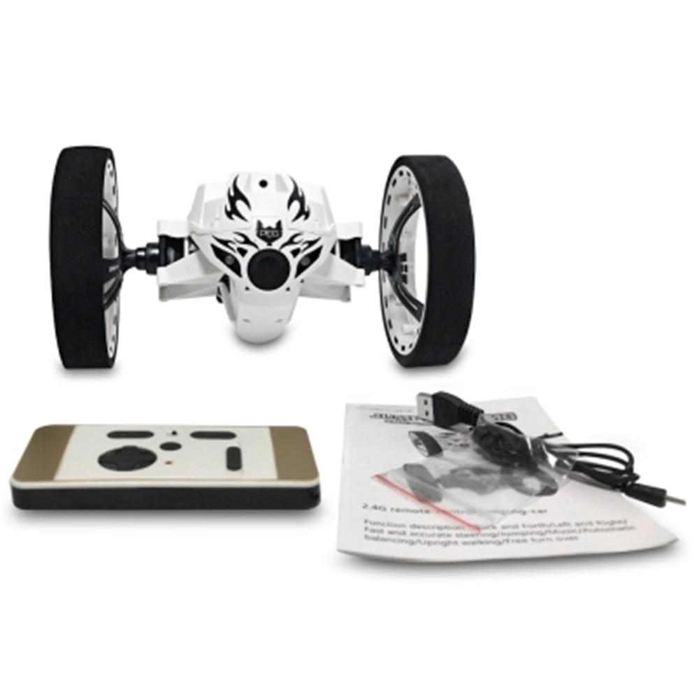 High Speed RC Lkw Bounce Springen Fernbedienung Spielzeug Flexible Räder Rotation Musik LED Licht Stunt Für Kinder Geschenke Spielzeug