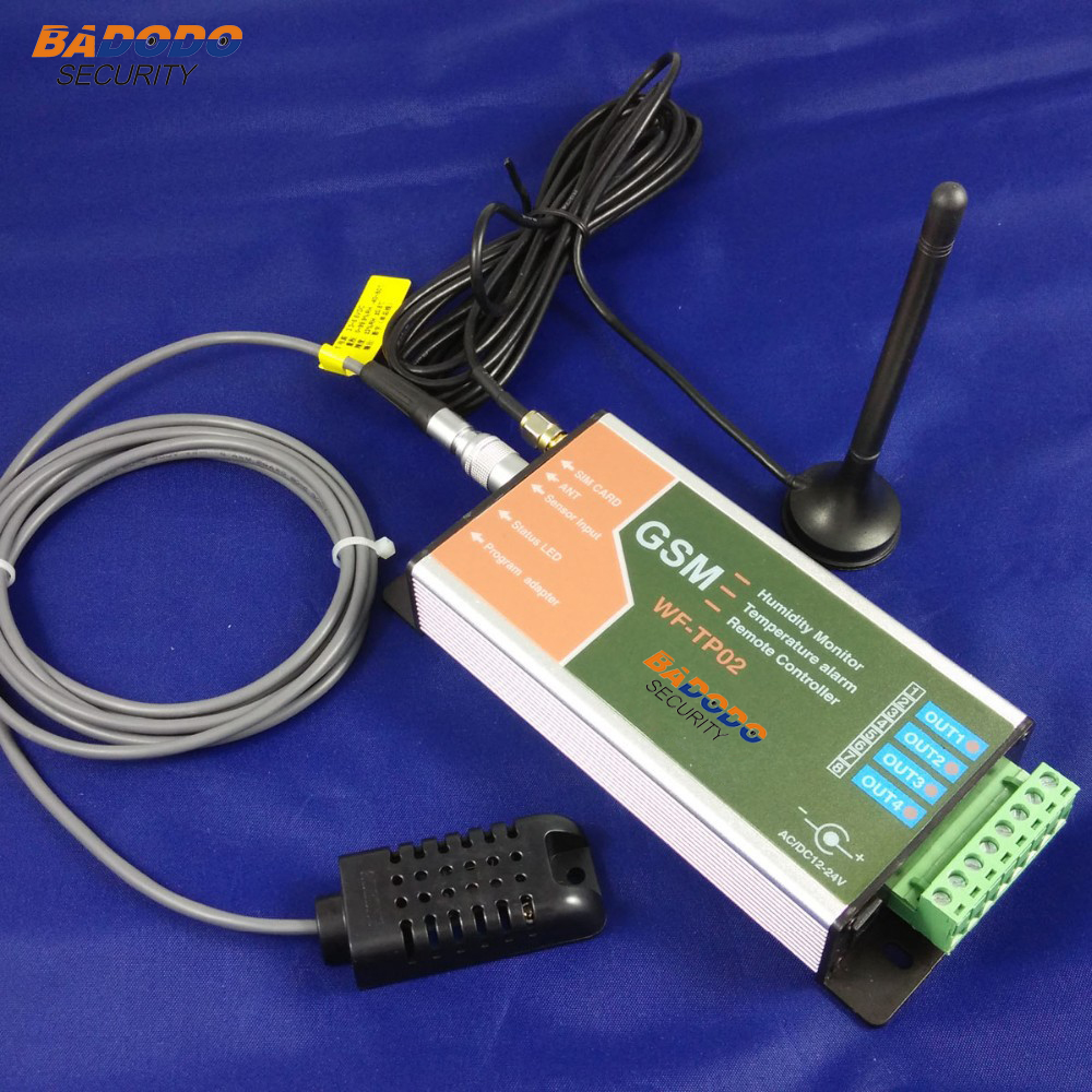 Badodo GSM SMS Casa Verde de Temperatura