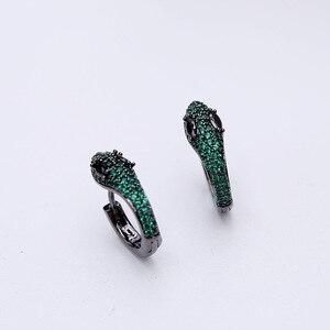 Image 4 - Einfache Mode Einzigartige Kreative Schlange Ohrringe Kleine Und Exquisite Lustige Tiere Ohrringe Für Frauen ZK40