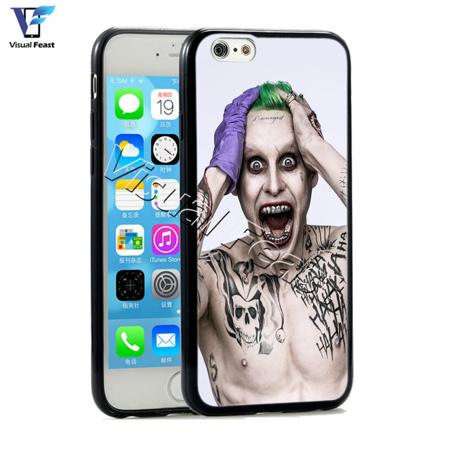 The Joker Case Jared Leto Cover Hybird TPUPC For Iphone 6 6s 4.7 inch Phone Case Retail and wholesale