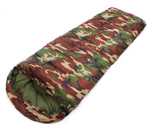 1PCS High Quality Cotton Camping Sleeping Bag for Spring Camouflage Sleeping Bags