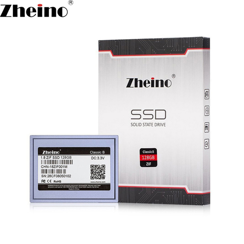 Zheino 1.8 pouce CE ZIF SSD 128 gb MLC Solid state drive Pour MacBook Air 1st A1237 Dell D420 D430 HP Mini 1000 2710 p Toshiba 2410